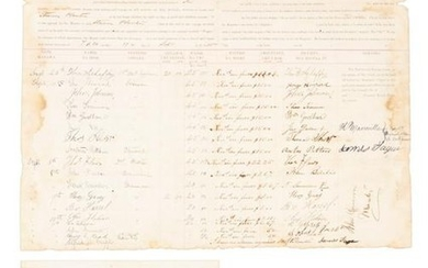 Signing seamen for Hawaiian steamer 1885