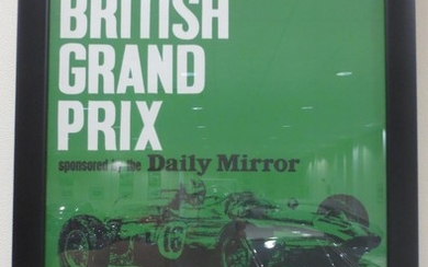 Three 'Aintree 200' motor racing posters,