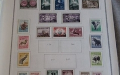 Old European colonies - Collection of stamps including British, Portuguese and Spanish colonies