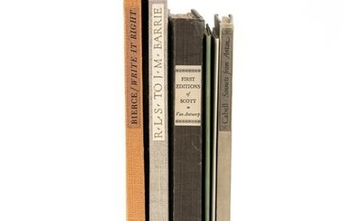 [GRABHORN PRINTING]. A group of 6 works of literature,