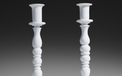 Fulvio Bianconi, Rare candlesticks model 2745, pair