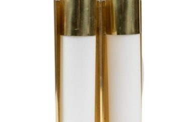 Brass and Glass Sconce