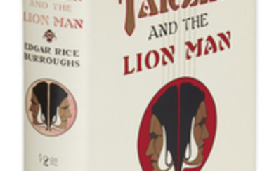 BURROUGHS, EDGAR RICE. Tarzan and the Lion...