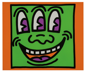 Keith Haring - Keith Haring: Plate from Icons Portfolio