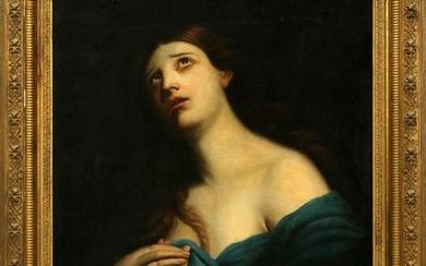SCHOOL OF CARLO DOLCI, OIL ON CANVAS LAID ON BOARD