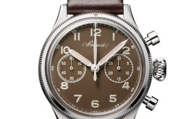 BREGUET BREGUET TYPE 20 ONLY WATCH 2019 In homage to both watchmaking and aviation, Breguet reissues a unique version of its Type 20 pilot chronograph from the fifties in a form that is very faithful to the original.,