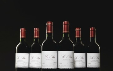 Le Pin 1998, 6 bottles per lot
