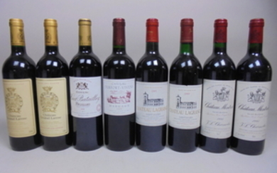 Mixed Lot Grand Cru Bordeaux 1989/1995/1999/2004/2005