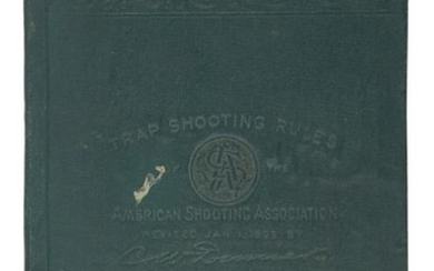 Trap Shooting Rules of the American Shooting