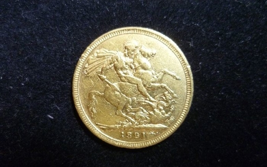 Great Britain - Sovereign 1821 George IIII- Gold