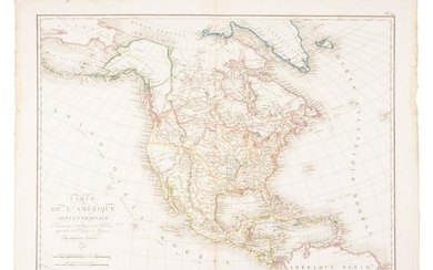 Tardieu's map of North America 1821