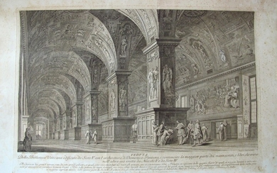 Panini, Francesco: View of the Vatican Library, Year 1767