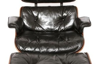 Eames Herman Miller Lounge Chair & Ottoman