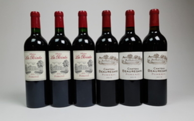 Mixed lot Pomerol 2010