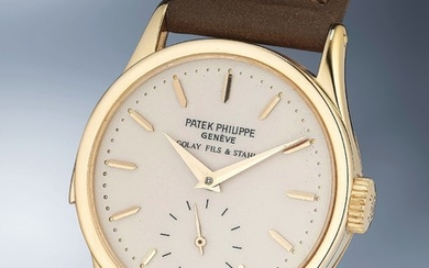 Patek Philippe, Ref. 3652 A unique and important yellow gold minute repeating wristwatch