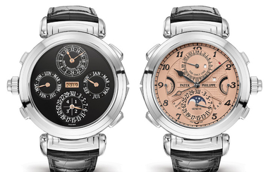 PATEK PHILIPPE PATEK PHILIPPE GRANDMASTER CHIME The Grandmaster Chime reference 6300A-010 was created specially for Only Watch 2019. It stands out as the first and only version of this timepiece ever produced in stainless steel.,