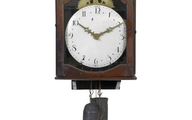 French Wall Clock by Lamare, 1822