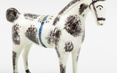 Staffordshire Pearlware Model of a Horse