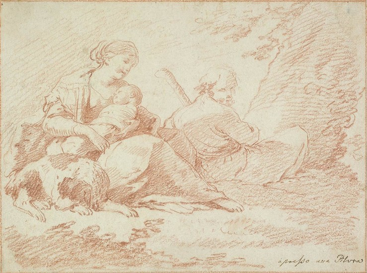 BOLOGNESE SCHOOL, 18TH CENTURY The Rest on the Flight into Egypt.