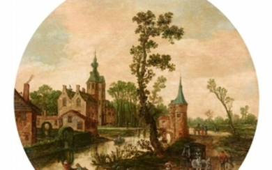Jan van Goyen, Landscape with an Old Castle and a Tower