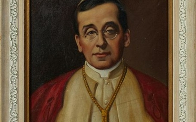 "J. M Kavanaugh, ""Pope Pius XII,"" 1938, oil on canvas,"