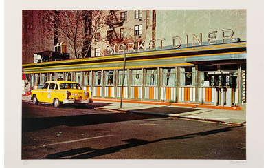 John Baeder (1938), Market Diner, from the City Scapes Portfolio (1979)