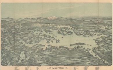 """Lake Winnipesaukee, New Hampshire"", Walker, George H. & Co."