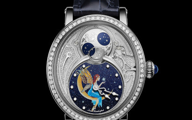 BOVET 1822 RÉCITAL 23 ''HOPE'' With Récital 23 ''Hope'' timepiece, BOVET watchmakers create an enchanting universe, to which engravers and miniaturist painters of the House then add their poetic touch, by sending a sincere message of hope.,