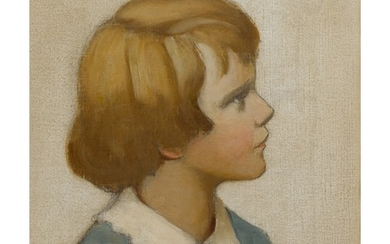 JESSIE WILLCOX SMITH | PORTRAIT OF AUSTIN M. PURVES, JR