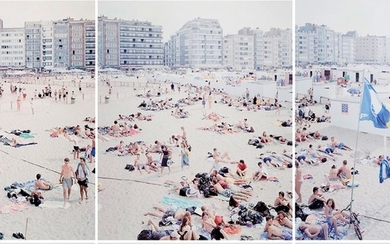 Knokke Triptych (One, Two, and Three) (Three Works)