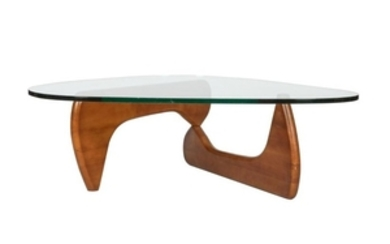 Noguchi Style - Glass Top Coffee Table