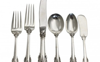 Wallace Sterling Silver Grand Baroque Flatware