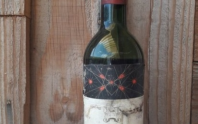 1959 Chateau Mouton Rothschild - Pauillac 2éme Grand Cru Classé - 1 Bottle (0.75L)