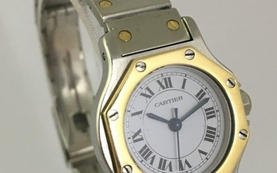 Cartier - Santos Octagon- Women - 1980-1989