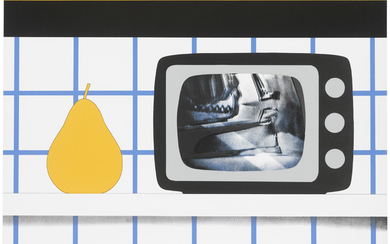 TOM WESSELMANN (1931-2004), TV Still Life, from: 11 Pop Artists III