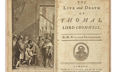 SHAKESPEARE, WILLIAM, attributed to. The Life and...