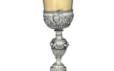 A silver goblet, Genoa, late 19th century