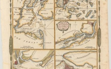 """""""Various Plans and Draughts of Cities, Towns, Harbours &c. Drawn from the Latest Authorities"""", Conder, Thomas"""
