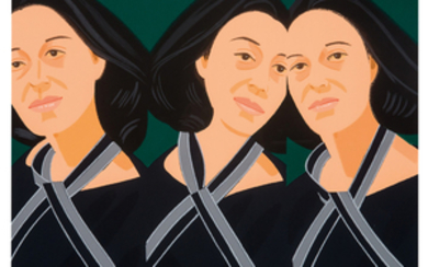 Alex Katz - Alex Katz: Gray Ribbon (from Alex & Ada portfolio)