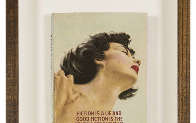 The Connor Brothers (b.1968) Fiction is a Lie and good Fiction is the Truth Within the Lie