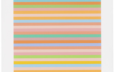 BRIDGET RILEY (B. 1931), Rose Rose