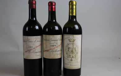 Mixed Lot Château Gruaud-Larose 1920/1926/1928