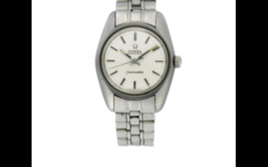 OMEGA SEAMASTER Lady's steel wristwatch 1970s Dial, movement and...