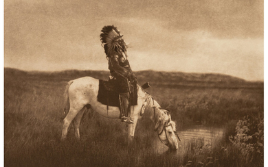 Edward Sheriff Curtis (1868-1952), The North American Indian, Portfolio 3 (Complete with 36 works) (1905-1908)