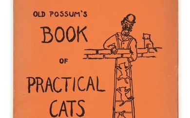 ELIOT, Thomas Stearns (1888-1965). Old Possum's Book of