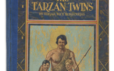 BURROUGHS, EDGAR RICE. The Tarzan Twins. Illustrated...