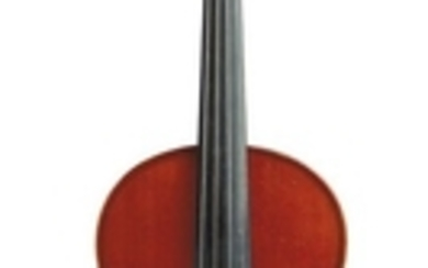 French Violin - C. 1920, Mirecourt, labeled …PEDRAZZINI…, length of two-piece back 355 mm.