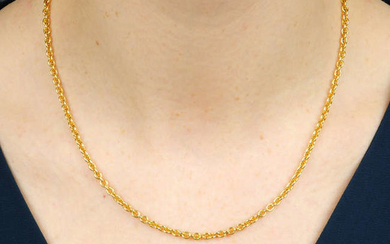 A 'Catene' necklace, by Bulgari.