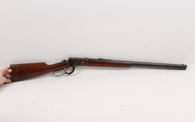 Winchester Model 1892 lever action rifle in 25-20 caliber