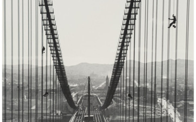 Peter Stackpole (1913-1997), Three Images of the Bay Bridge Construction (3 works) (1935-1936)